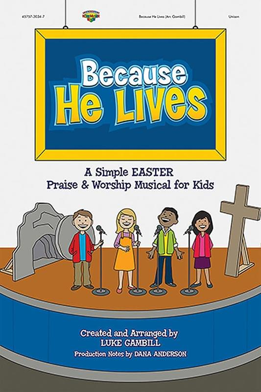 Because He Lives - Preview Pak (Listening CD & Choral Book - Limit 1)