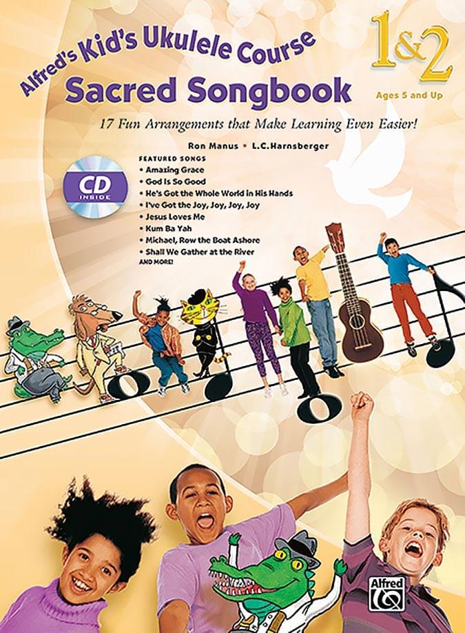 Kid's Ukulele Course Sacred Songbook