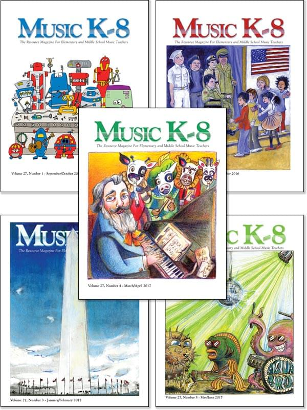 Music K-8 Vol. 27 Full Year (2016-17)