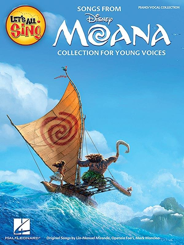 Let's All Sing... Songs From Moana