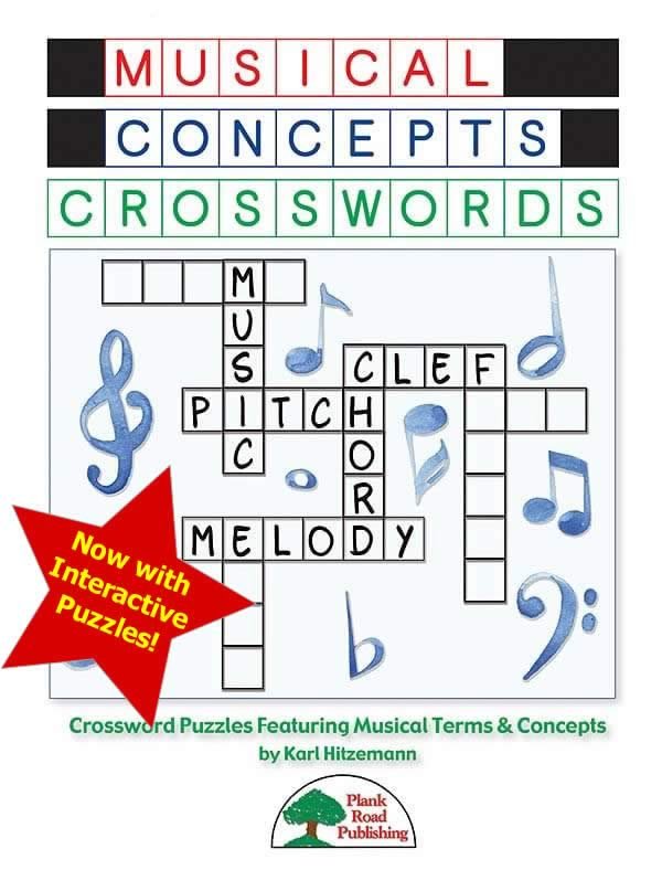 Musical Concepts Crosswords