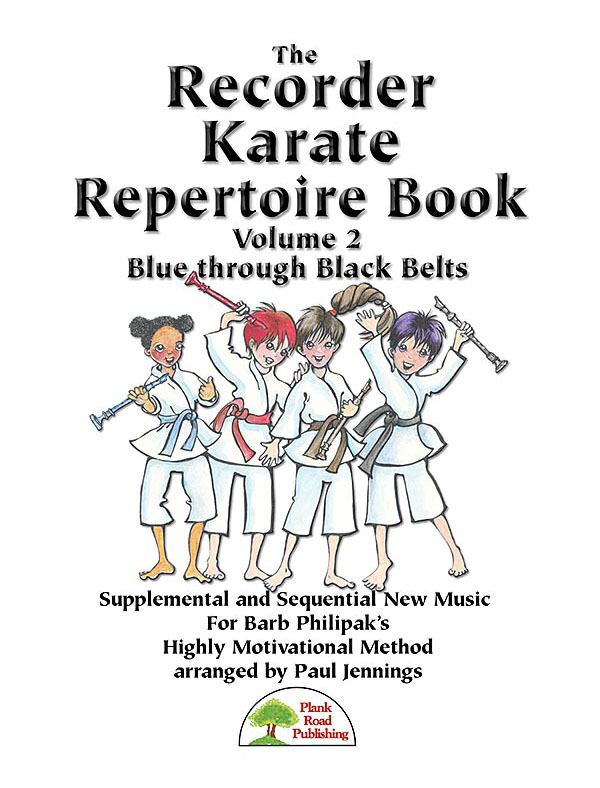 Recorder Karate Repertoire Book 2 Cover