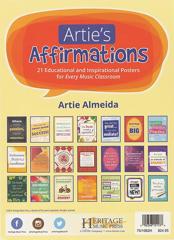 Artie's Affirmations - Posters