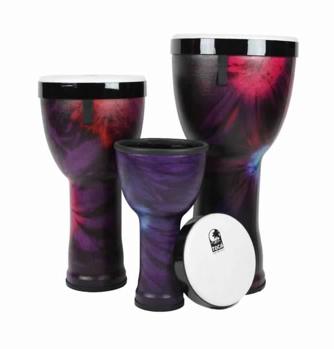 Nesting Djembes - Woodstock Purple