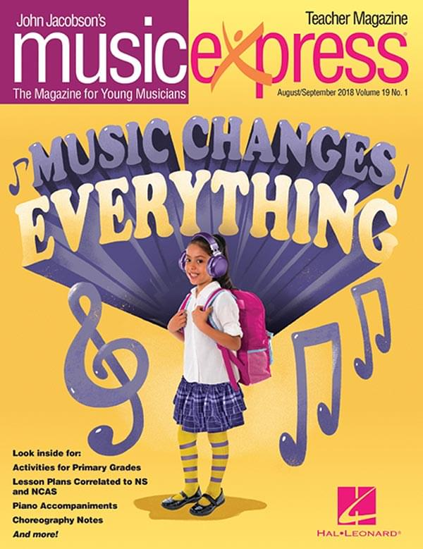 John Jacobson's Music Express - Subscription