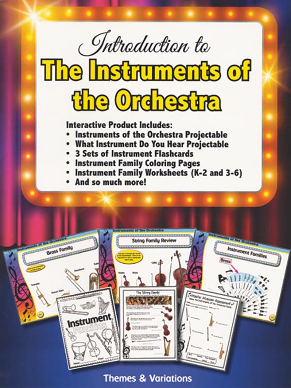 Introduction To The Instruments Of The Orchestra
