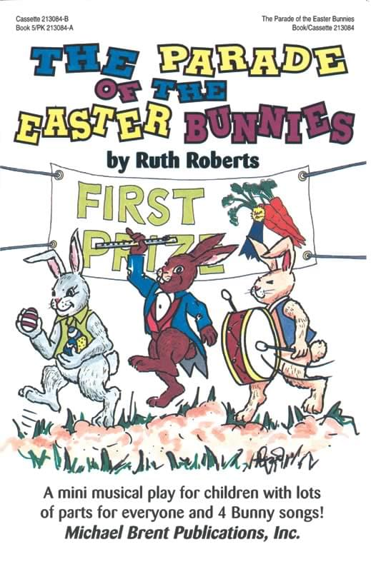 The Parade Of The Easter Bunnies - Book/CD Kit