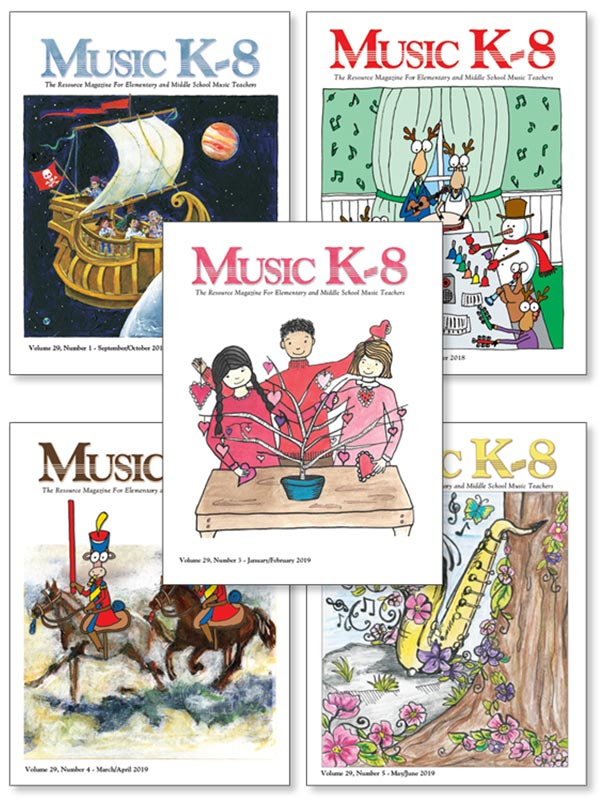 Music K-8 Vol. 29 Full Year (2018-19)