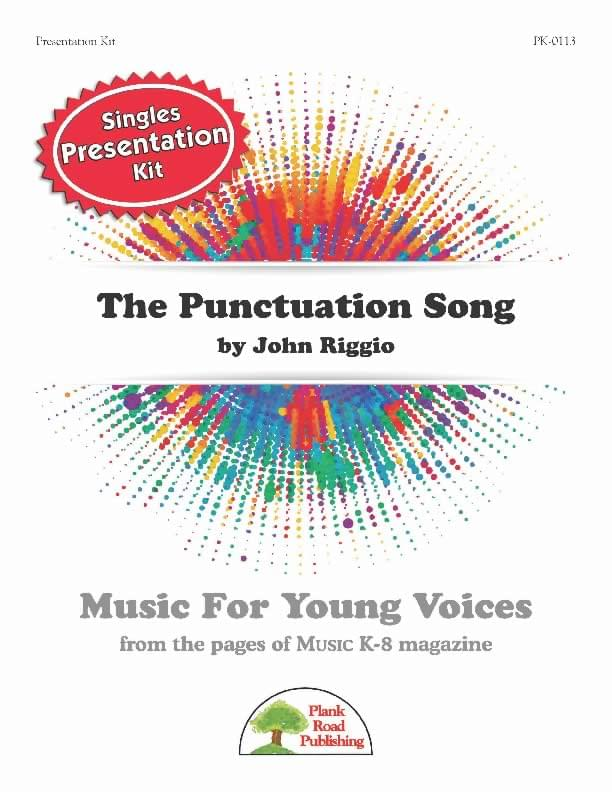 Punctuation Song, The - Presentation Kit