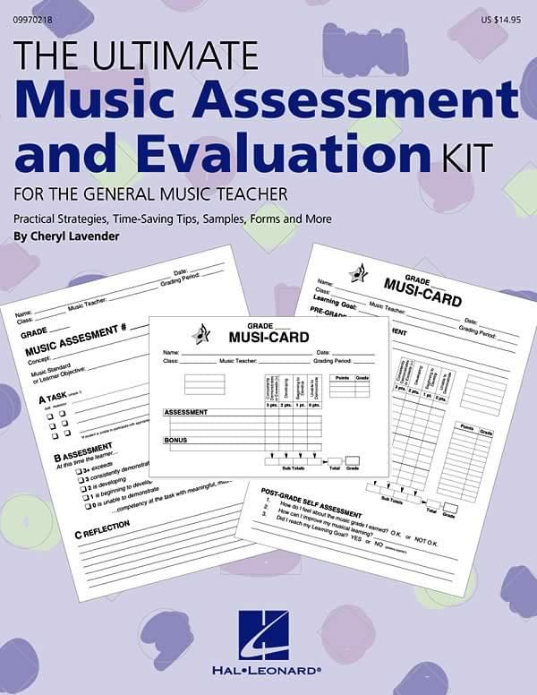 The Ultimate Music Assessment And Evaluation Kit - Tchr's Hndbk