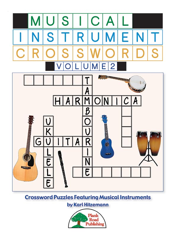 Musical Instrument Crosswords Volume 2
