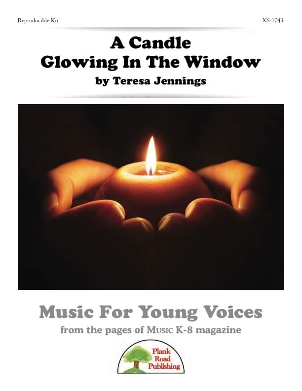 Candle Glowing In The Window, A