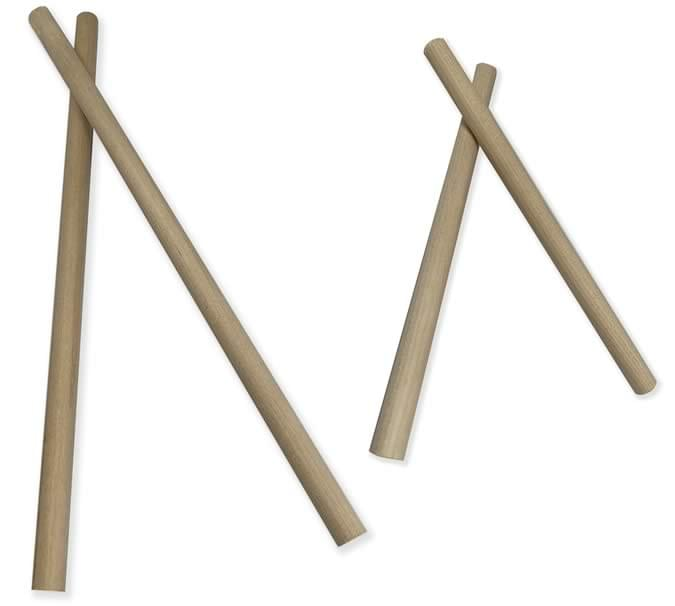 Natural Smooth Rhythm Sticks