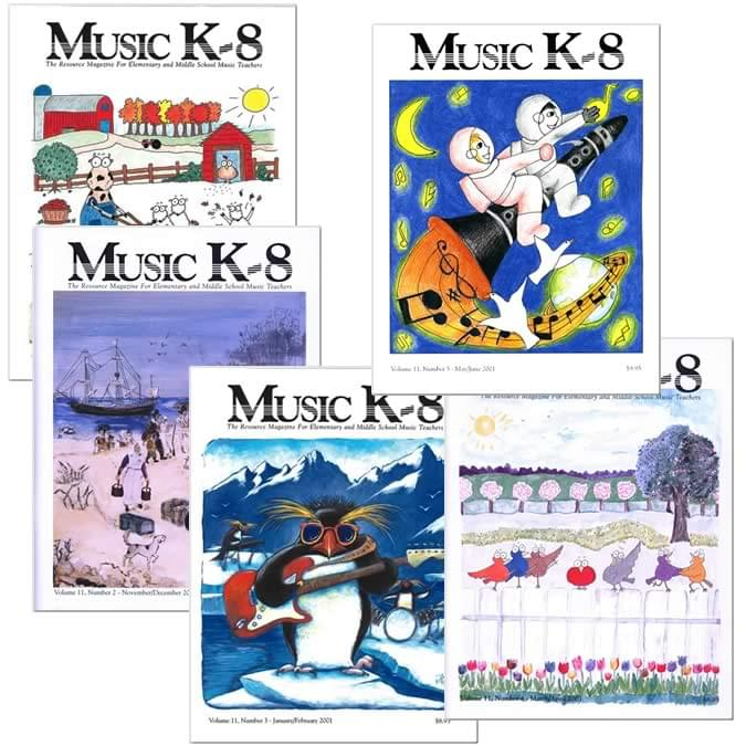 Music K-8 Vol. 11 Full Year (2000-01)