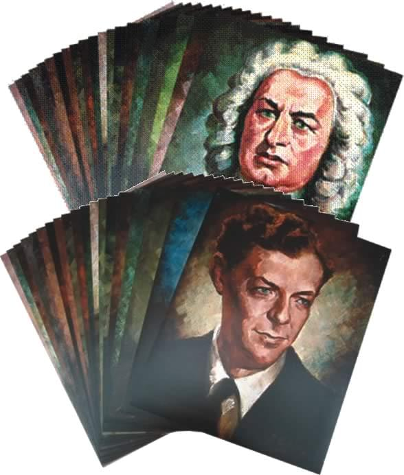 Portraits Of Great Composers Set 2 - 20th Century Posters/Booklet