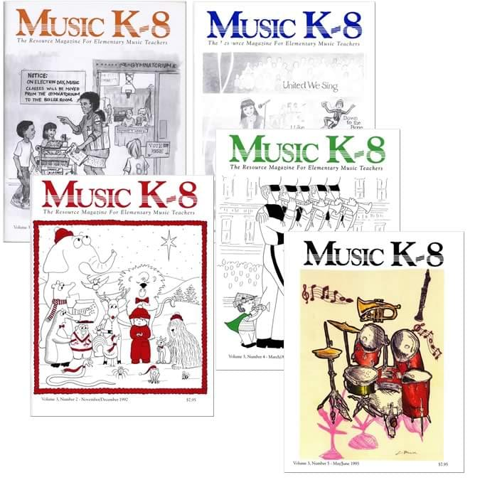 Music K-8 Vol. 3 Full Year (1992-93)
