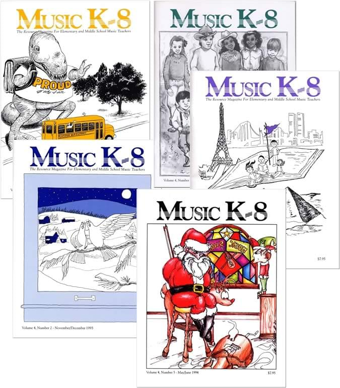 Music K-8 Vol. 4 Full Year (1993-94)