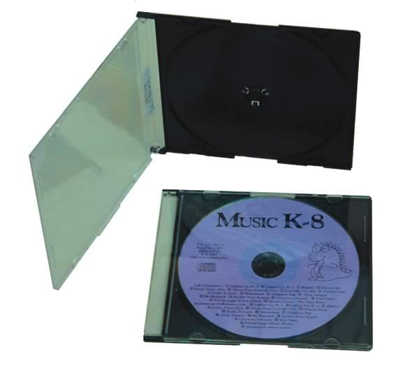 CD Jewel Boxes, Extra Slim
