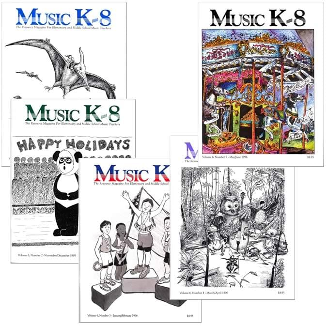 Music K-8 Vol. 6 Full Year (1995-96)