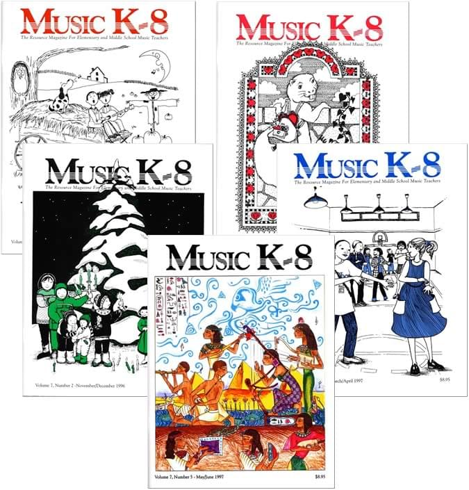 Music K-8 Vol. 7 Full Year (1996-97)