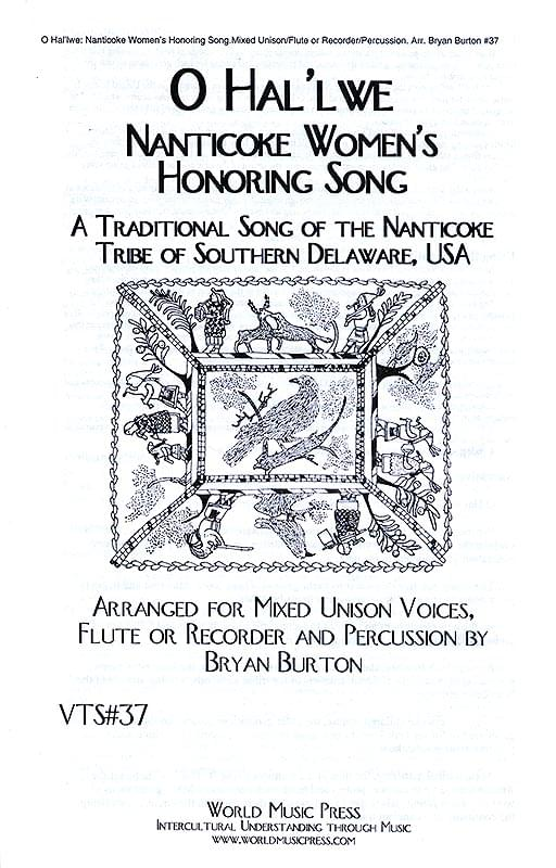 O Hal'lwe - Nanticoke Women's Honoring Song Cover