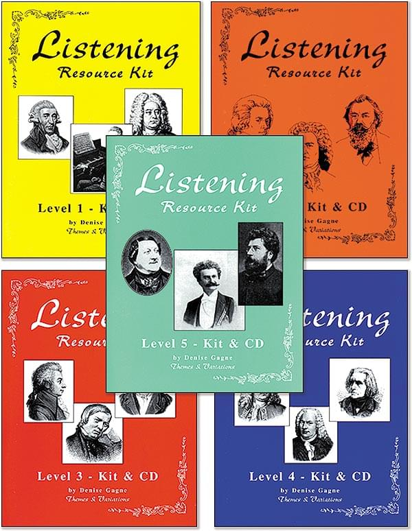 Complete Listening Resource Kit Level 3 (Grade 3) - Book Only