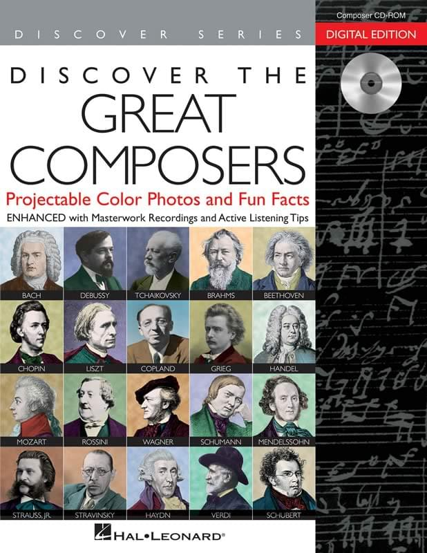 Discover The Great Composers - Composers Poster Pak