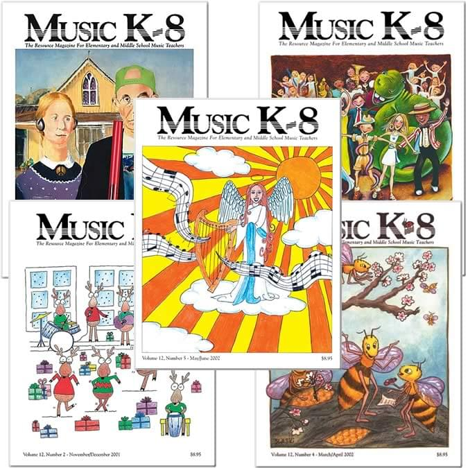 Music K-8 Vol. 12 Full Year (2001-02)