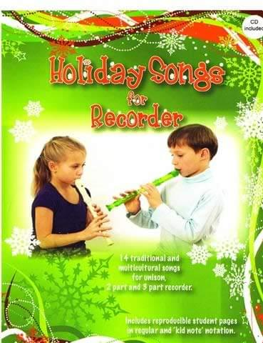 Holiday Songs For Recorder