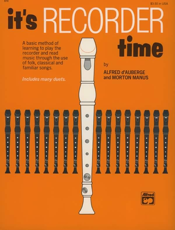 It's Recorder Time - Book