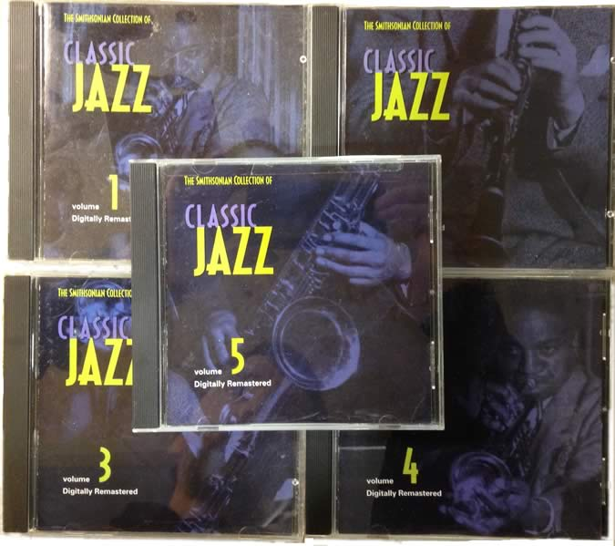 The Smithsonian Collection Of Classic Jazz (no booklet)