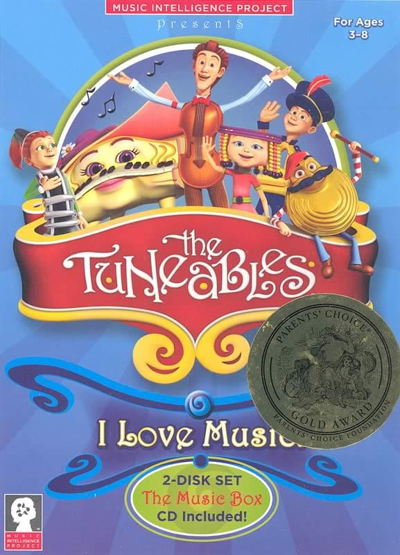 The Tuneables: I Love Music - DVD and CD