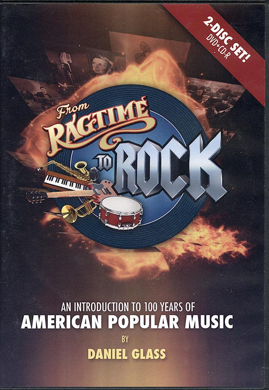 From Ragtime To Rock: An Introduction To 100 Years Of American Popular Music - 2 Disc Set