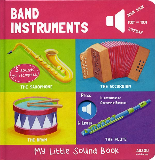 Band Instruments - My Little Sound Book