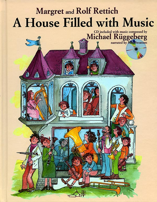 A House Filled With Music - Book/CD