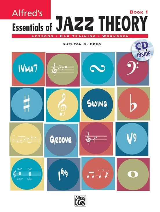 Alfred's Essentials of Jazz Theory, Book 1 - Book/CD