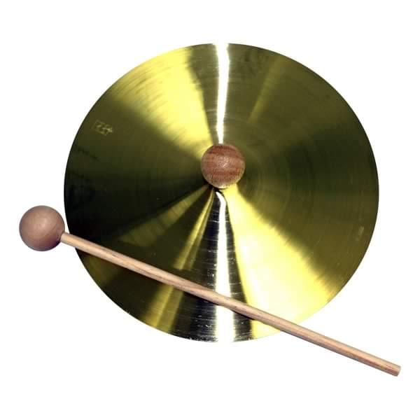 "7"" Brass Cymbal with Mallet"