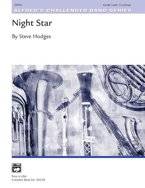 Night Star - Concert Band Conductor Score & Parts