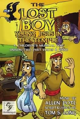 The Lost Boy: Young Jesus In The Temple Score - Book/Demo CD