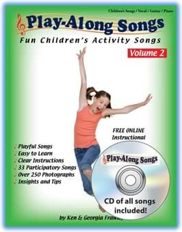 Play-Along Songs Vol. 2: Fun Children's Activity Songs - Book/CD