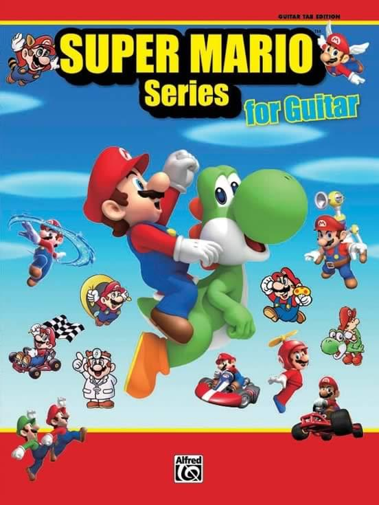 Super Mario™ Series for Guitar - 34 Super Mario™ Themes Arranged for Guitar TAB