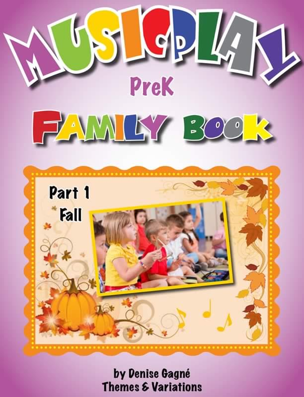 Musicplay PreK Part 1 Family Book