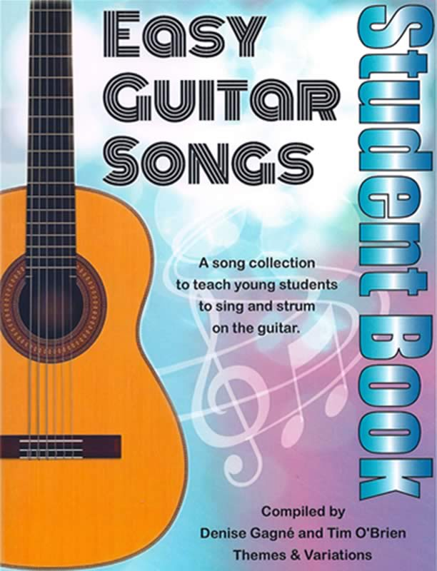 Easy Guitar Songs Student Book with Audio