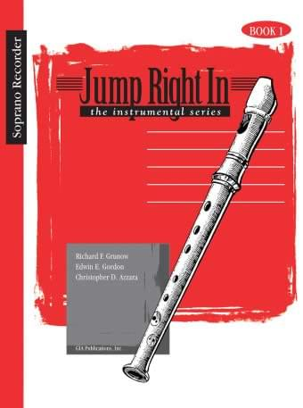 Jump Right In - Soprano Recorder - Student Book 1/CD