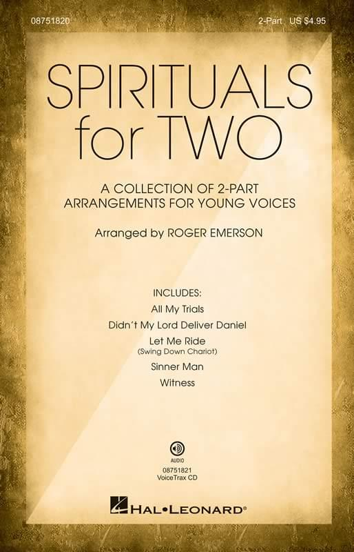 Spirituals For Two - 2-Part Choral (pack of 5)