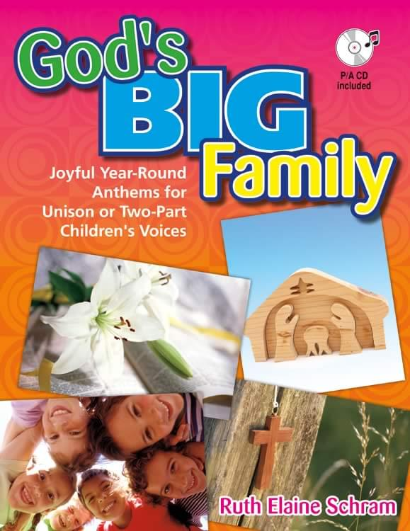 God's Big Family - Book/CD