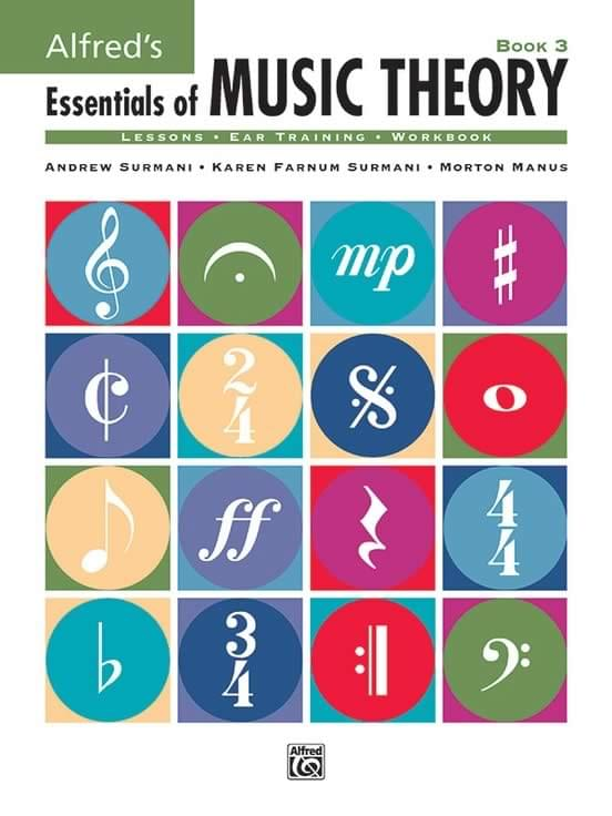 Book 3 - Alfred's Essentials Of Music Theory - Student Book