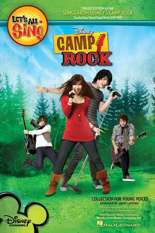 Let's All Sing... Songs From Disney's Camp Rock - Singer Ed 10-Pak