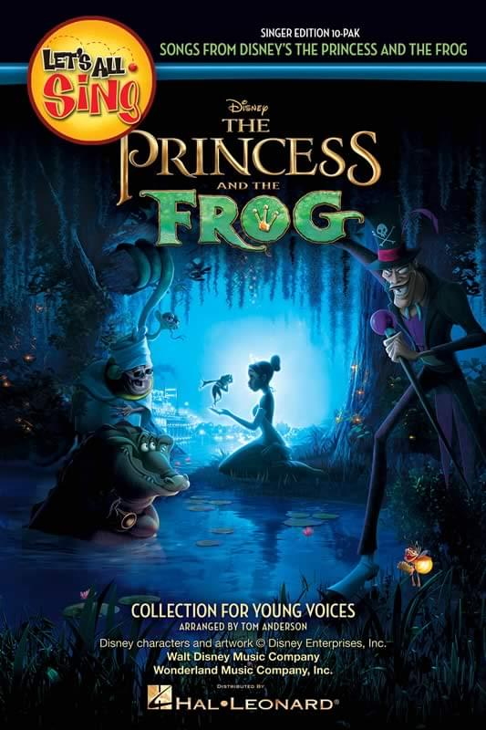 Let's All Sing... Songs From Disney's Princess And The Frog - Sngr Ed 10-Pak