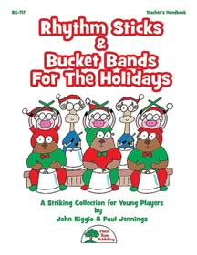 Rhythm Sticks & Bucket Bands For The Holidays